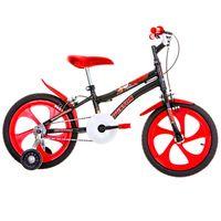BicicletaAro16NicPretaHouston