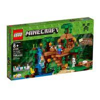 LegoMinecraft21125ACasadaArvoredaSelvaLEGO