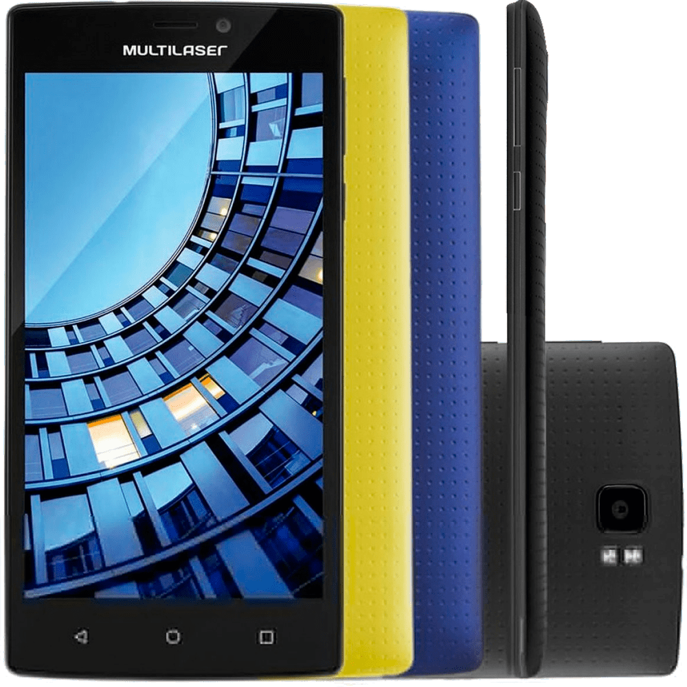 Smartphone Multilaser MS60, Tela 5.5 ´, Quad Core, 4G, Dual Chip, Preto - P9005