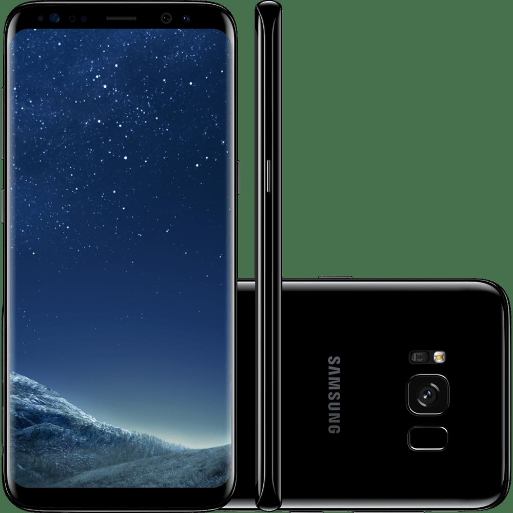 Smartphone Samsung Galaxy S8, 64GB, Câmera 12Mp, Octa - Core, Dual Chip, Preto - G950F
