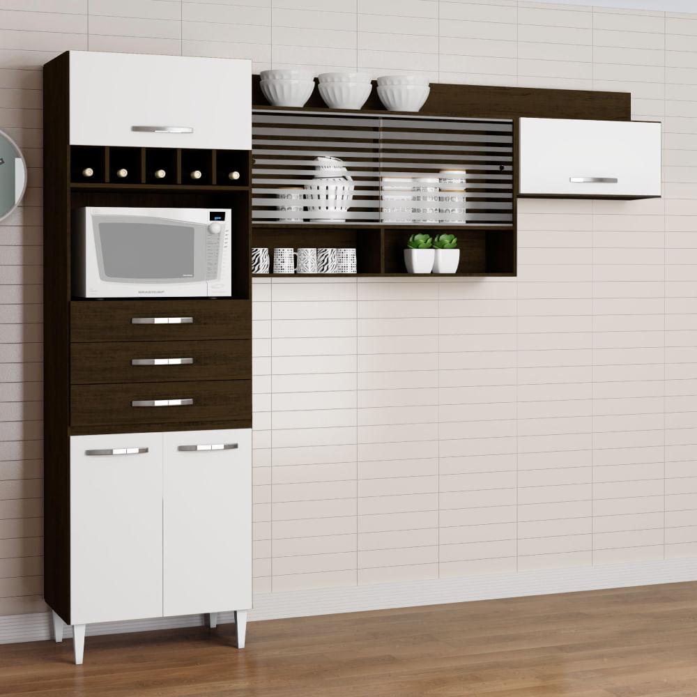 Cozinha Compacta Novo Mundo Beyato Com V Rios Desenhos Sobre