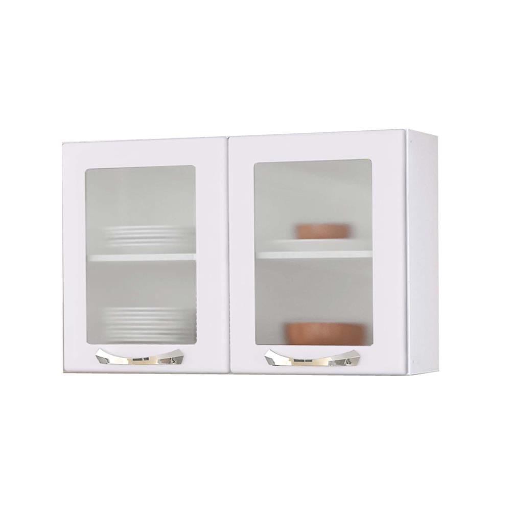 Armário de Aço Parede Itatiaia TX Branco Premium  IPV2  Novo Mundo -> Armario De Banheiro De Parede