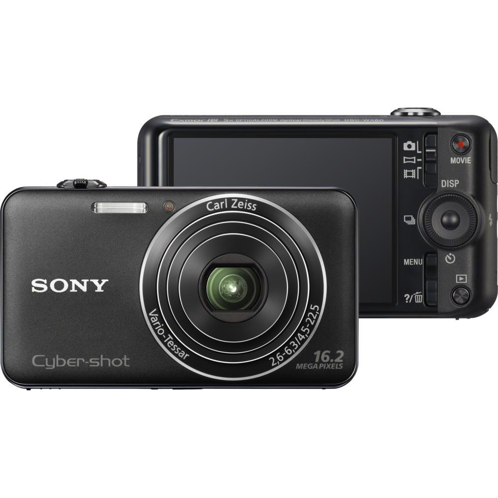 Camera Digital Sony Cyber Shot 162mp Preto