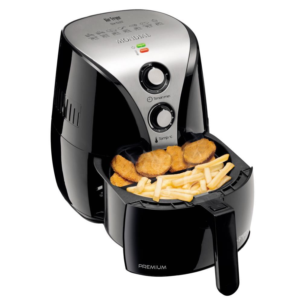 Fritadeira Mondial Air Fryer Premium, Desligamento Automático - AF01 110V