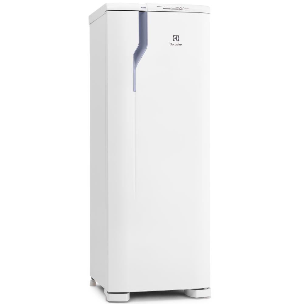 Geladeira / Refrigerador Electrolux, Degelo Prático ( Cycle Defrost ) , 262L, Branca - RDE33 220V