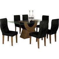 mesa-de-jantar-6-cadeiras-com-tampo-de-vidro-verona-tecido-suede-creme-rufato-malta-ipe-ebano-33119-0png