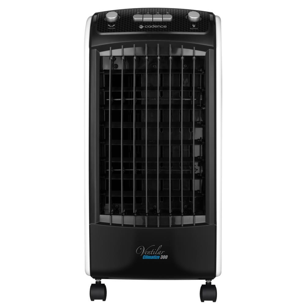 Climatizador de Ar Cadence Ventila e Umidifica, Preto / Branco - CLI300 220V