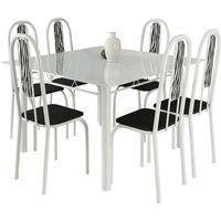 mesa-de-jantar-6-cadeiras-com-tampo-de-vidro-metalplus-araguaia-branco-zebra-preto-33725-0png