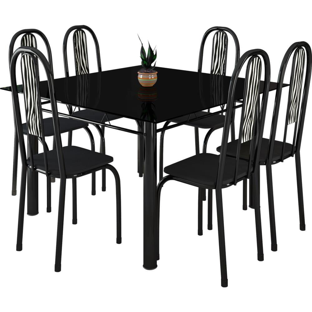 mesa de vidro : mesa de jantar redonda de vidro com base de metal cromado