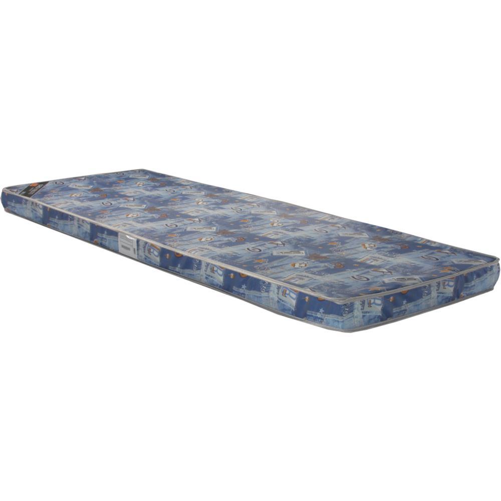 Colchonete Solteiro Ultra - flex com Tecido Poliéster Azul Cowboy 088x188cm - Ultra D20