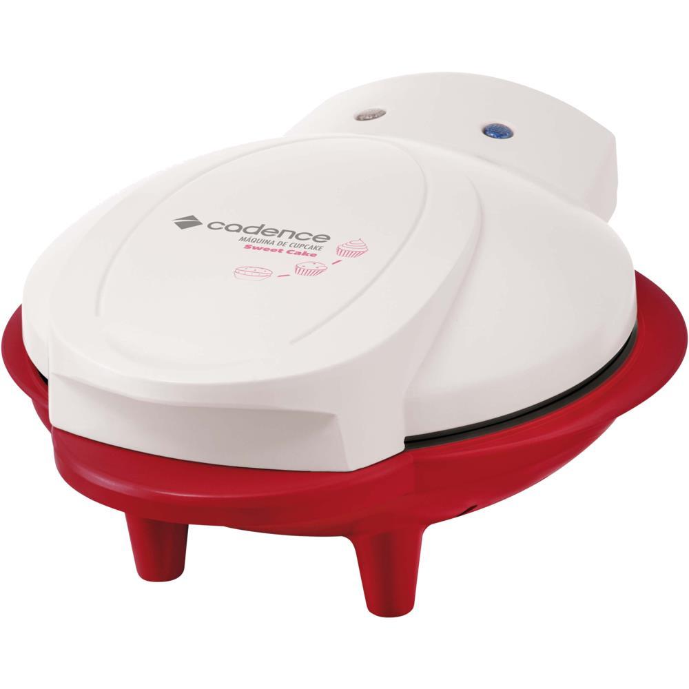 Máquina de Cupcakes Cadence Weet Cake, Chapa Antiaderente - CUP100 110V