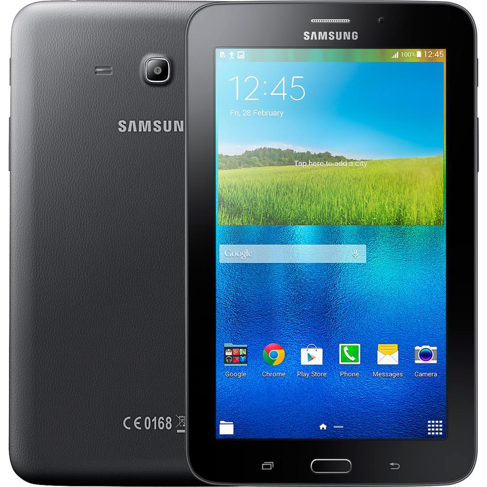 Tablet Samsung Galaxy Tab 3 Lite, Tela 7 ´ Capacitiva, 8GB, Wi - Fi, Preto - T113