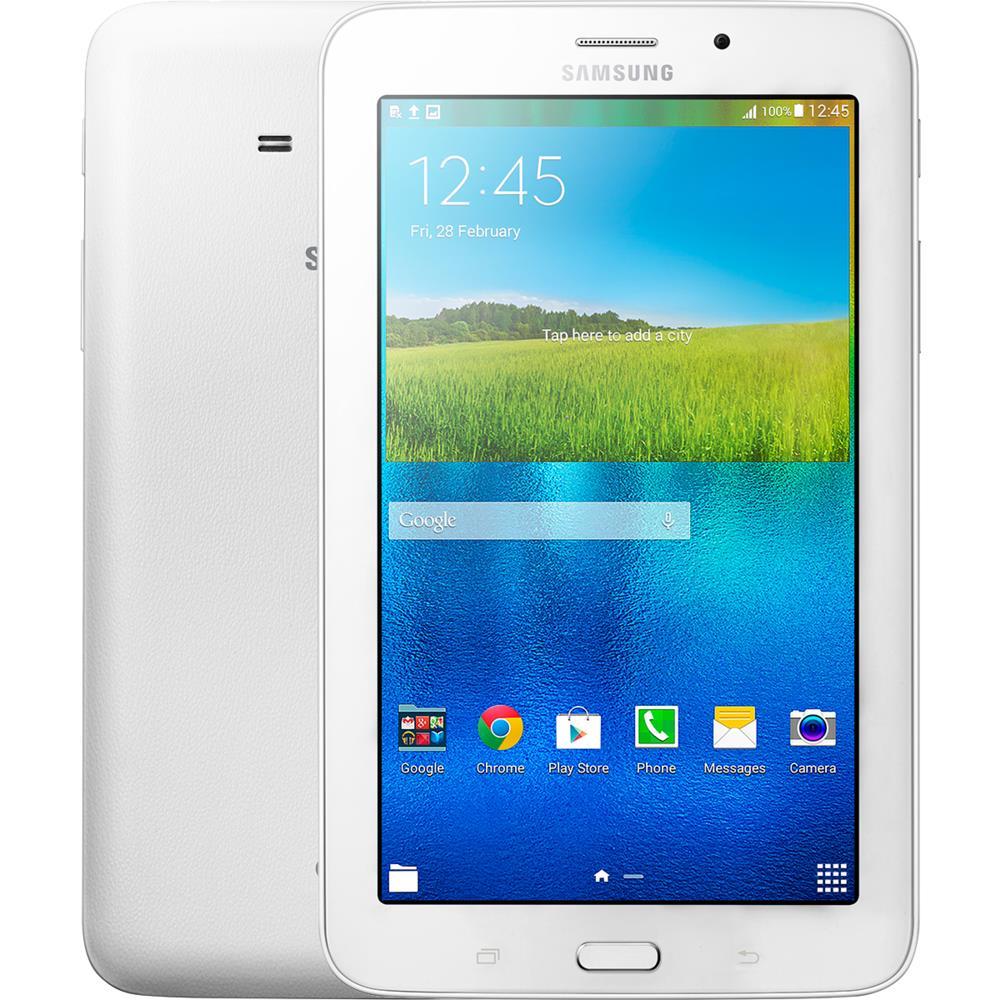 Tablet Samsung Galaxy Tab 3 Lite, Tela 7 ´ Capacitiva, 8GB, Wi - Fi, Branco - T113