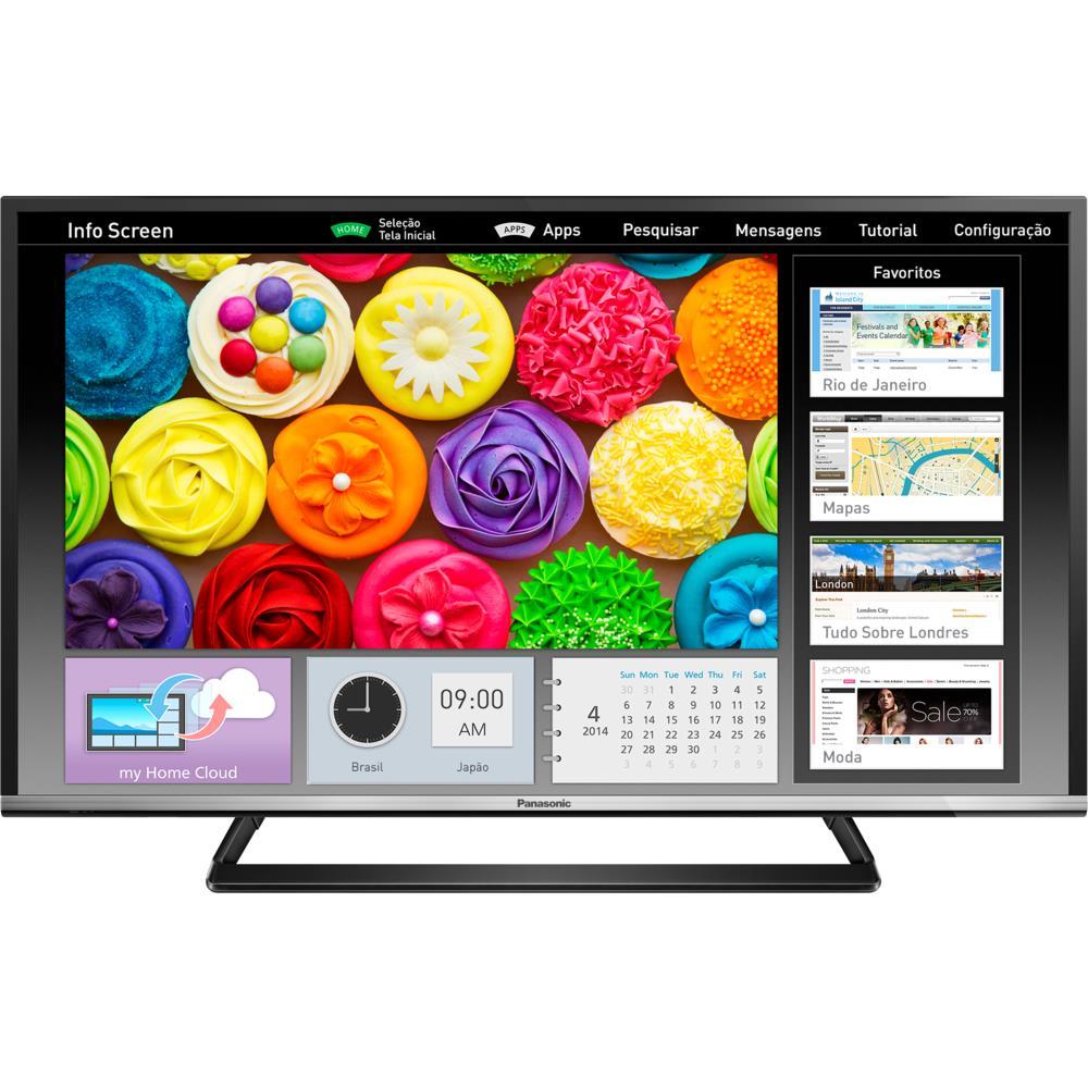 tv panasonic viera tc 40cs600b led plana 40 polegadas 27. Black Bedroom Furniture Sets. Home Design Ideas
