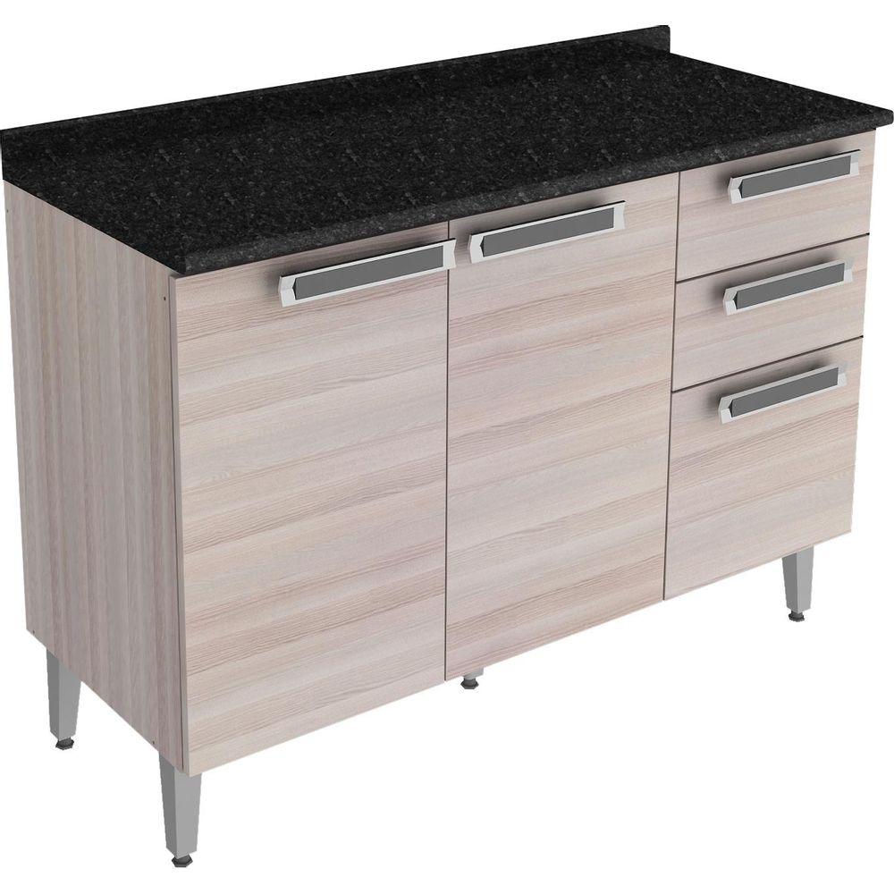 #474474 Gabinete para Cozinha com 2 Portas e 3 Gavetas Itatiaia Jazz IG3G2120 Novo Mundo 1000x1000 px Armario De Cozinha Em Goiania #2993 imagens