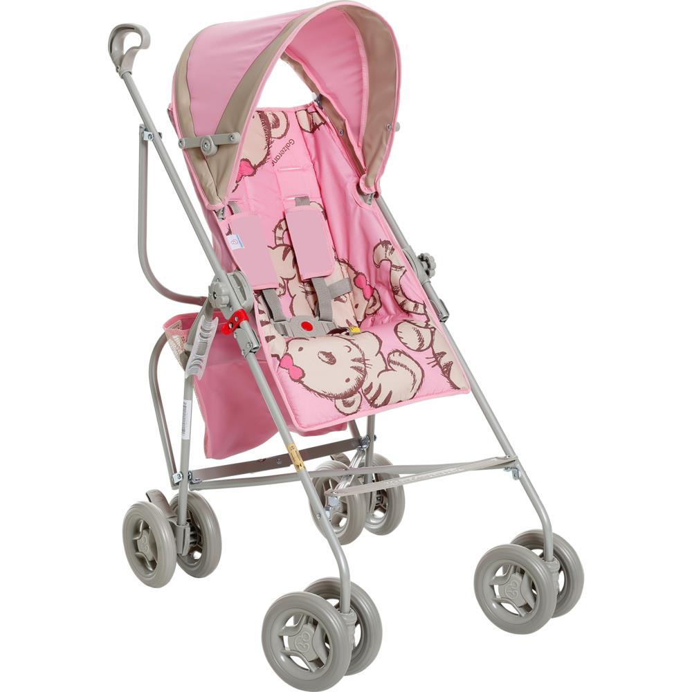 Carrinho de Bebê Reversível Tigrinha Até 15 kg - Galzerano 1001