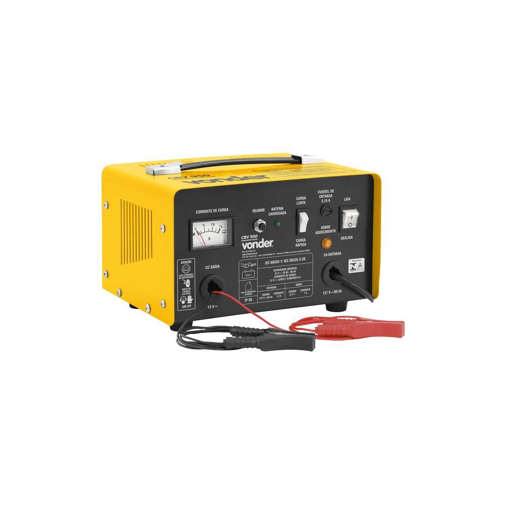 Carregador de Bateria, 12V, 9A - CBV950 220V
