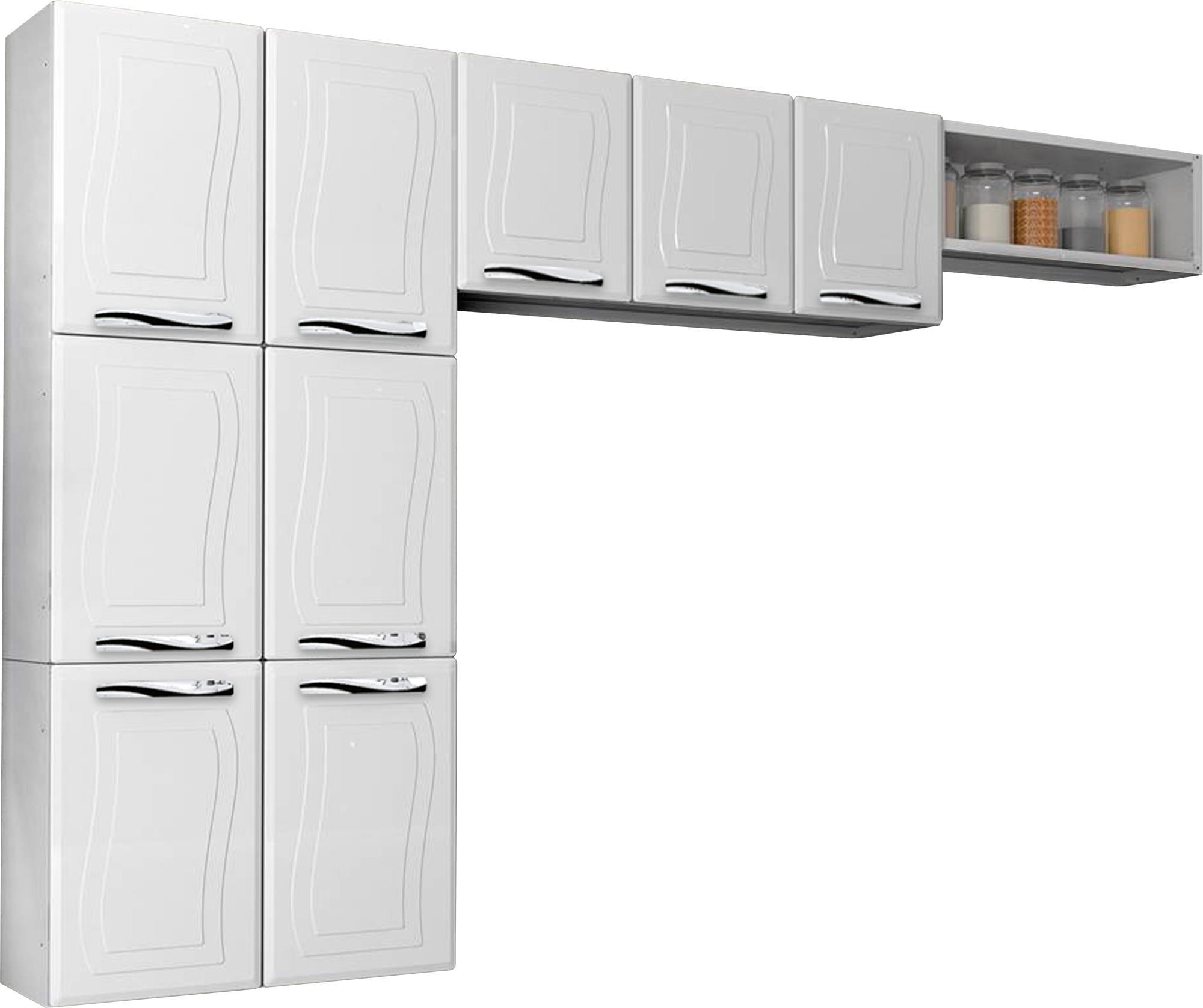 Cozinha Compacta Fit Ipanema Beyato Com V Rios Desenhos Sobre