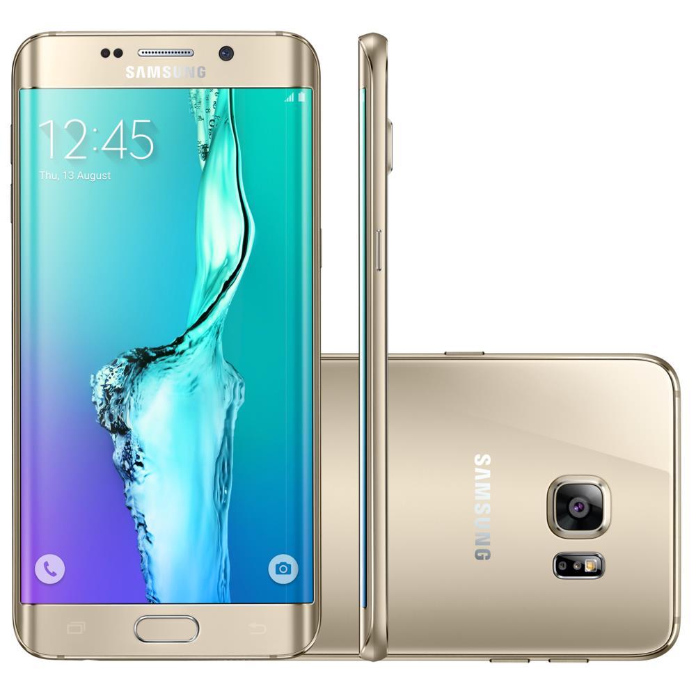 Smartphone Galaxy S6 Edge Plus, Memória 32 GB, Câmera 16 MP - SMG928G