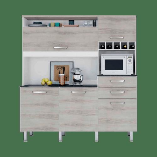 Armarios De Cozinha Moviflor : Wibamp armario de cozinha com vidro nas portas