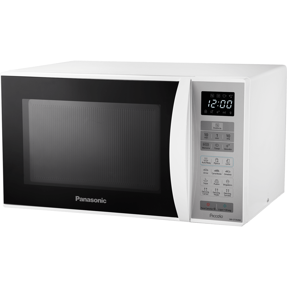 Micro - ondas Panasonic 25 Litros, Branco - NN - ST354WRU 220V