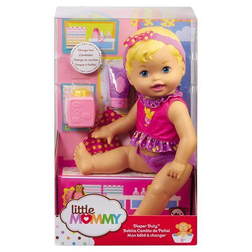 Boneca Little Mommy - Momentos do Bebê - Hora de Trocar as Fraldas X4588 Mattel