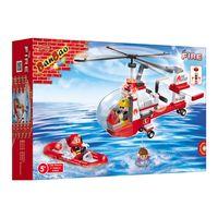 BombeiroHelicopterodeResgate150PecasBanbao