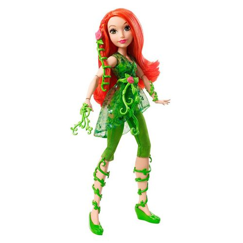 Boneco Dc Super Hero Girls Poison Ivy Mattel