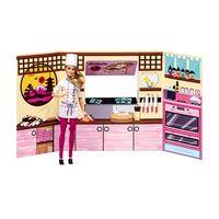 BarbieMassinhaFoodTuckComidaJaponesaeSushiFunDivirtase