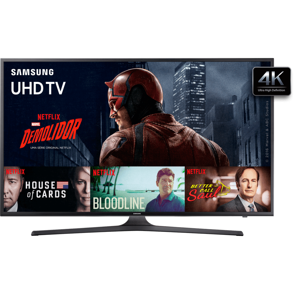 Smart TV 4K, Samsung 50, Wifi, Game Mode, HDMI e USB - UN50KU6000GXZD