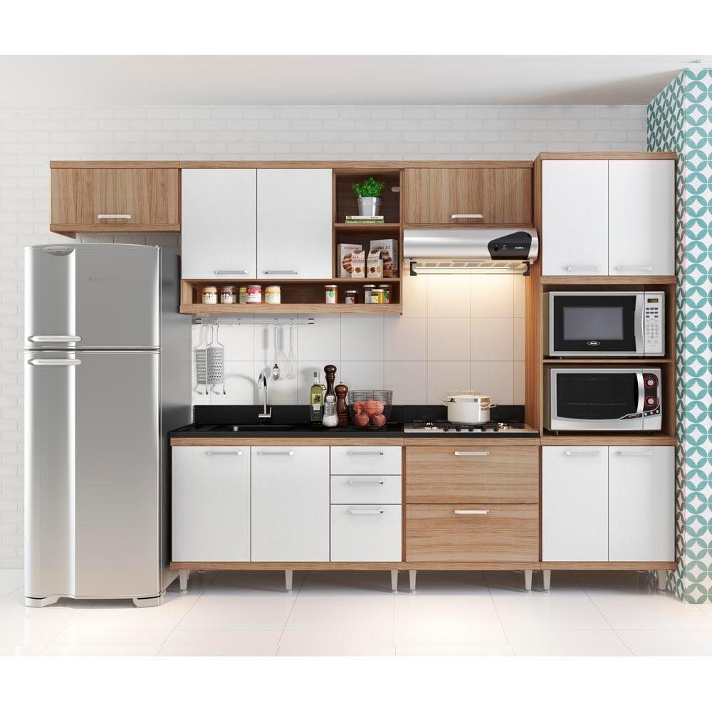 Cozinha Compacta Para Cooktop Beyato Com V Rios Desenhos Sobre