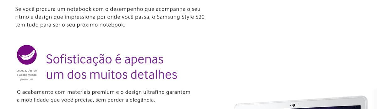 Notebook Samsung Style