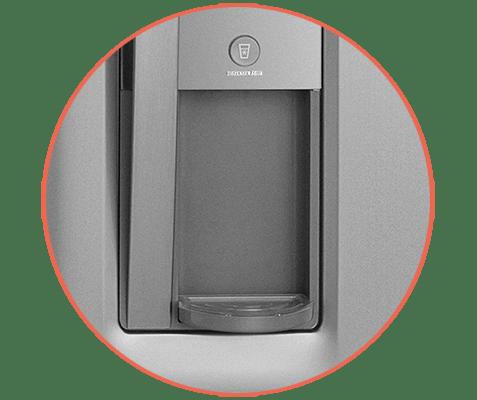 Refrigerador Electrolux com dispenser de água DW42X
