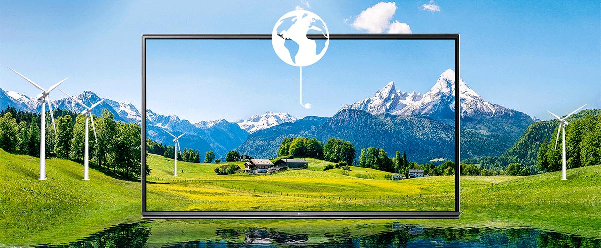 Energy Saving - Smart Tv LG UHD 4K 55UH6150