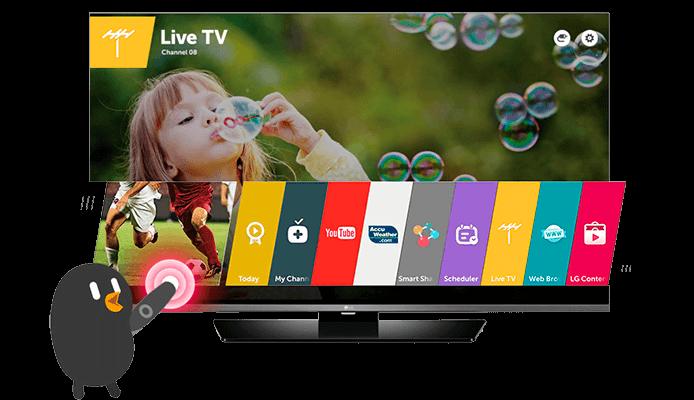 Launcher - TV LG 79UF7700
