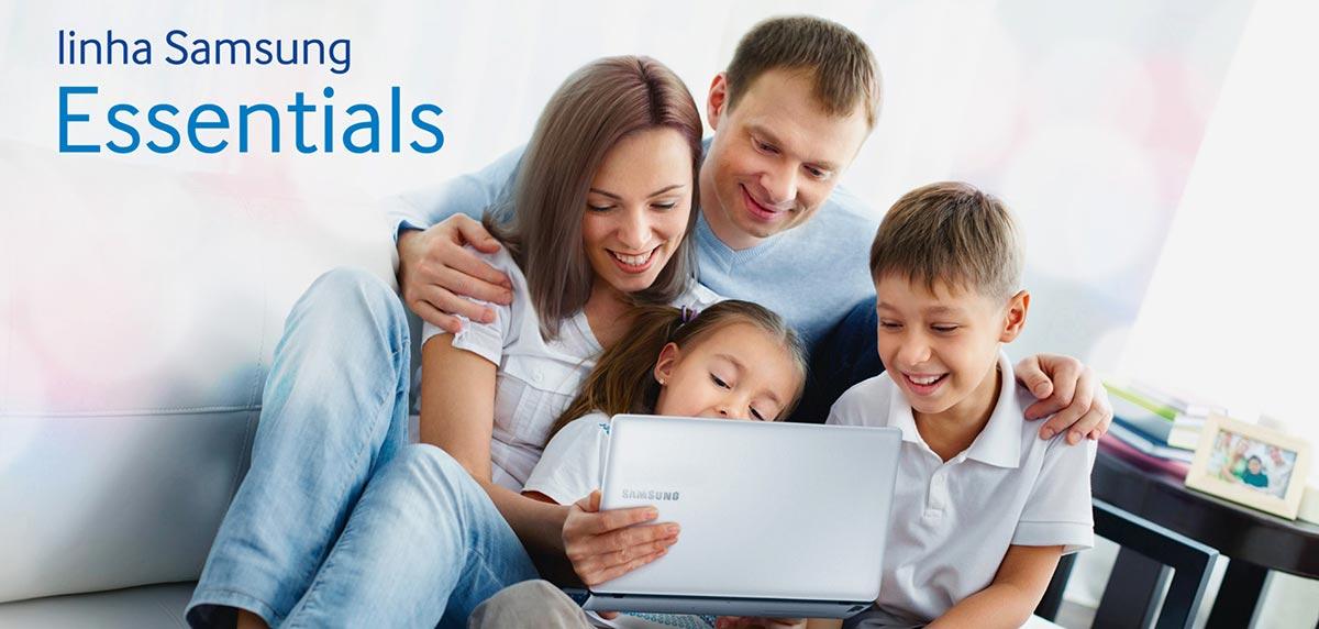 Notebook Samsung Essentials Intel Celeron - NP370E4K