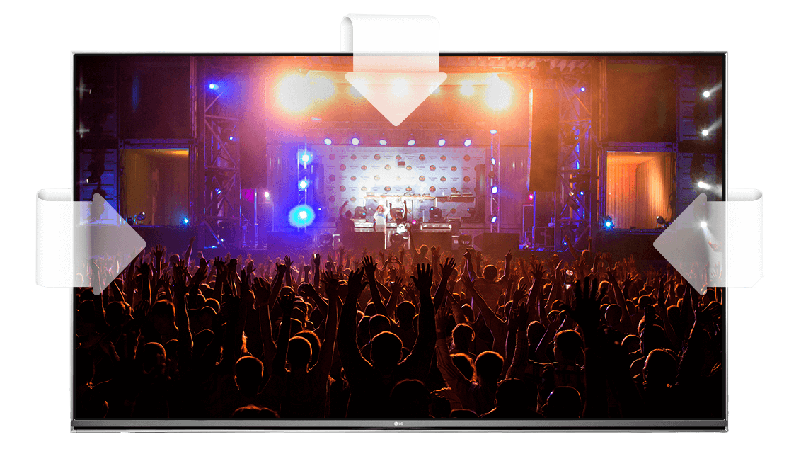 ULTRA-Surround da Smart Tv LG UHD 4K 55UH6150