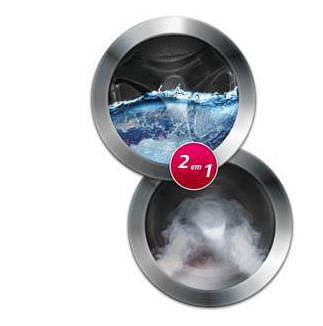 Lavadora e Secadora de Roupas LG - 2 produtos em 1