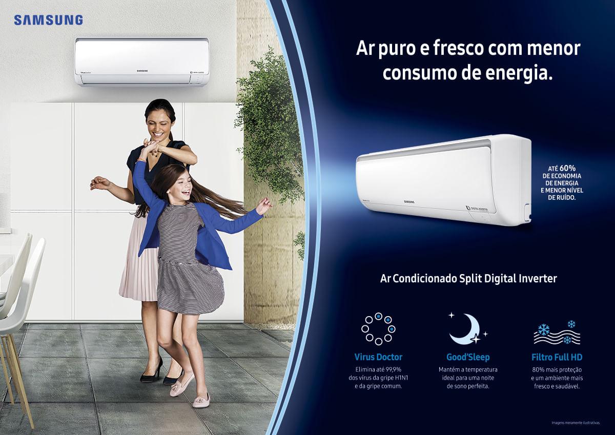 Ar Condicionado Inverter Samsung