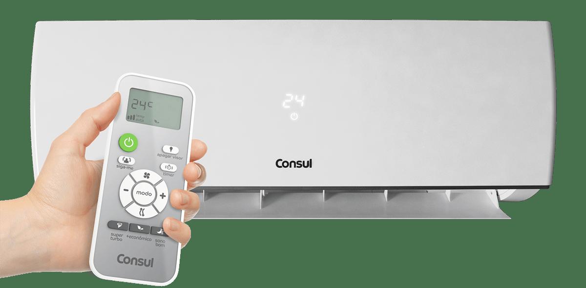 Função Umidade Condicionador de Ar Split Consul