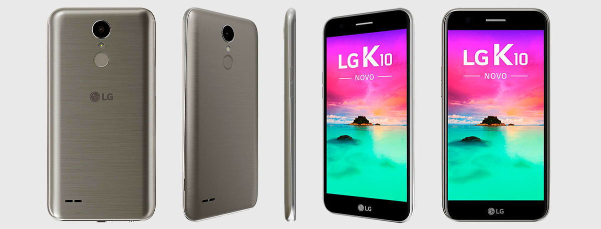 Smartphone Novo LG K10