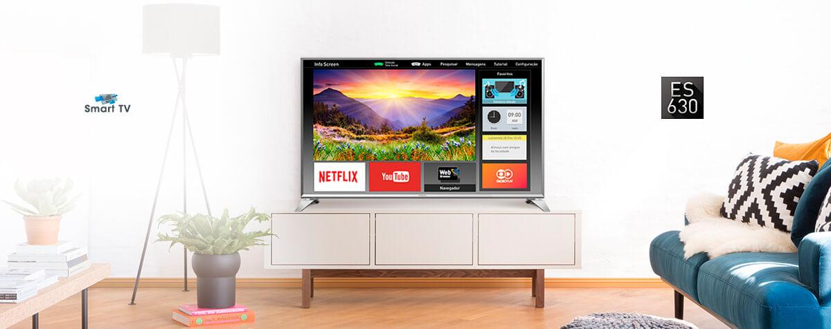 SMART TV LED TC-43ES630B
