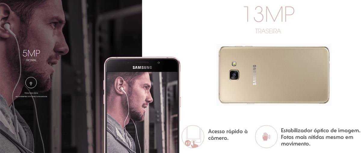 Câmera Galaxy A5