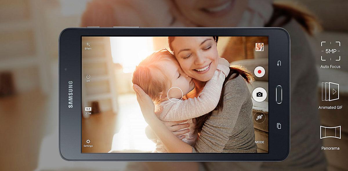 Câmera Galaxy Tab A 7 Polegadas