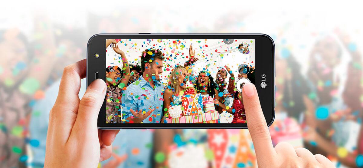Câmera Smartphone K10 Power