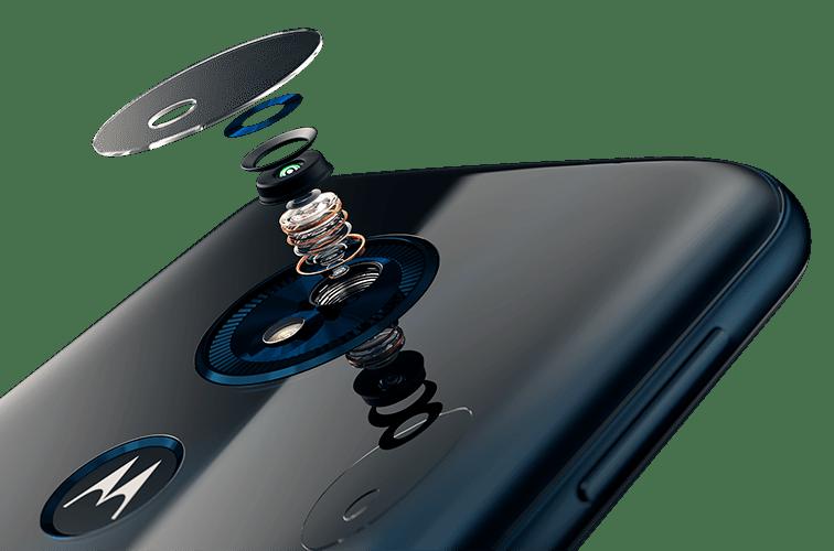 Câmera Moto G6 Paly