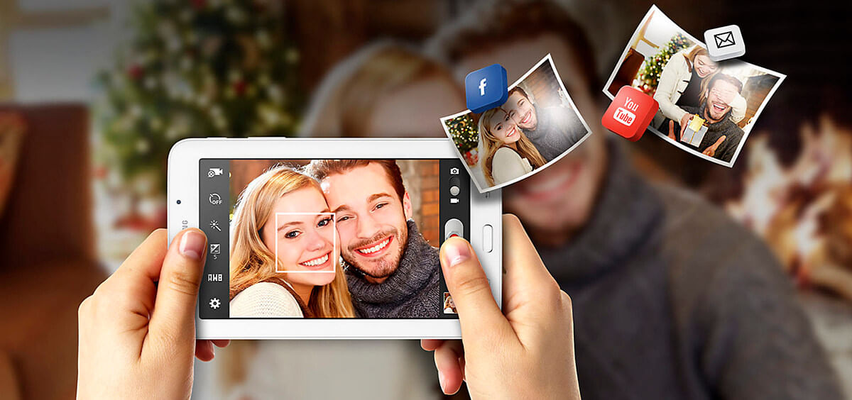 Câmera Galaxy Tab E 7.0 Wi-Fi