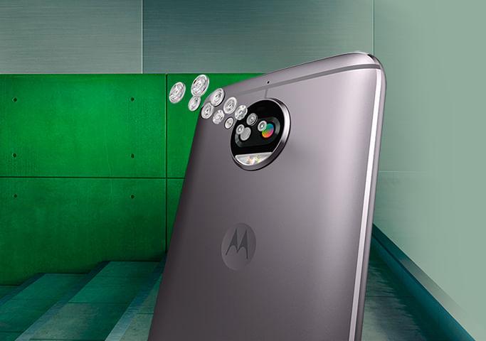 Câmera Moto G5S Plus