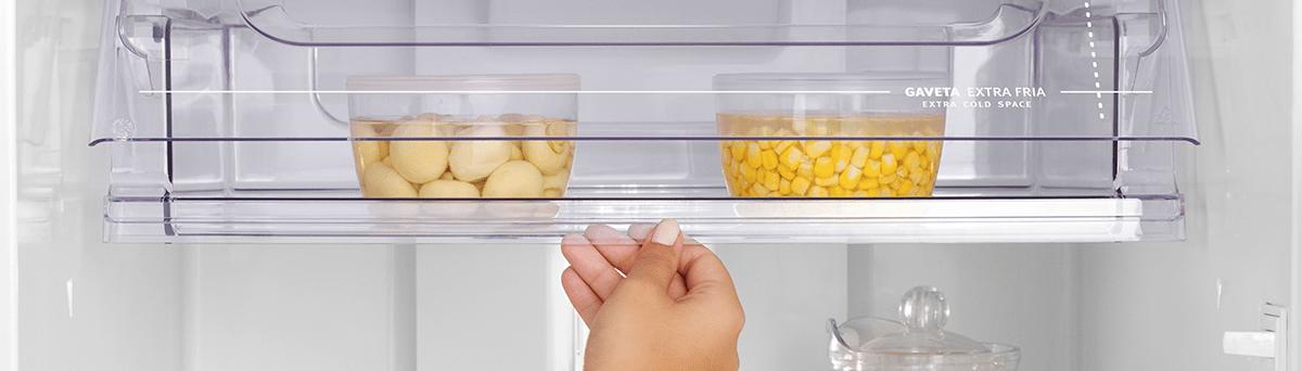 Compartimento para alimentos frescos Refrigerador Electrolux Duplex DF42