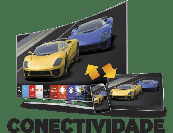 Conectividade - Smart TV Samsung J5500